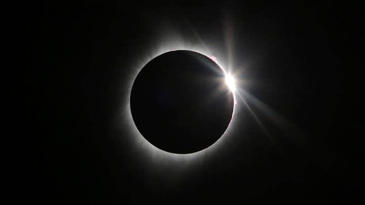 Solar eclipse overshadows work on Monday
