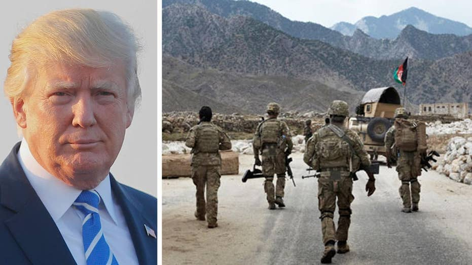 President Trump to address the nation on Afghanistan