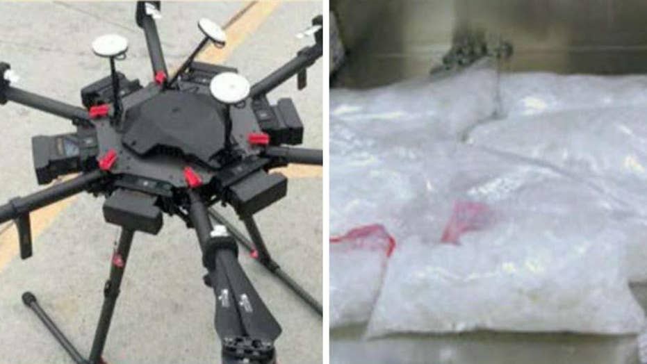 Drone used to smuggle meth across US-Mexico border
