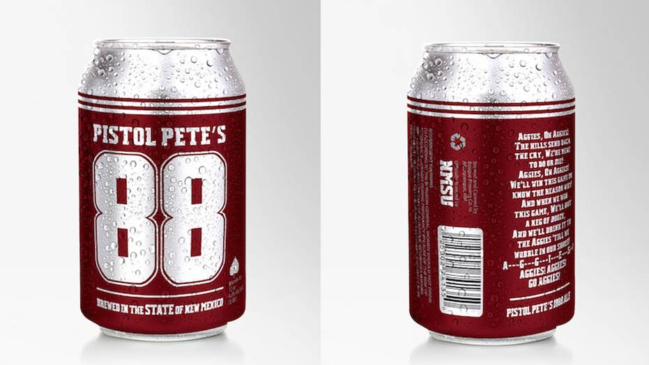 College in New Mexico unveils officially licensed beer