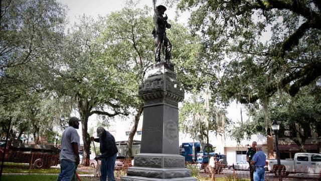National debate erupts over confederate statues