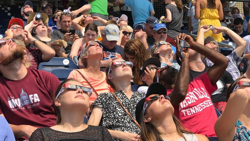 Over one million people visited Nashville on Monday during the first coast-to-coast total solar eclipse in nearly 100 years
