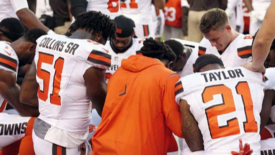 12 players kneel before pre-season game