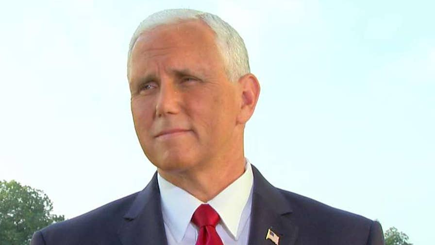 The vice president speaks out on 'Fox & Friends'