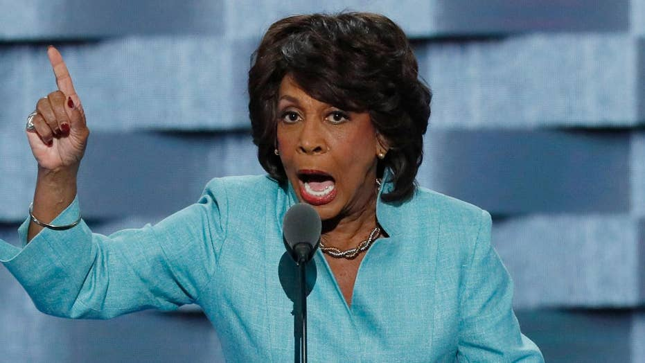 Maxine Waters targets 'white-wing nationalist' Carson