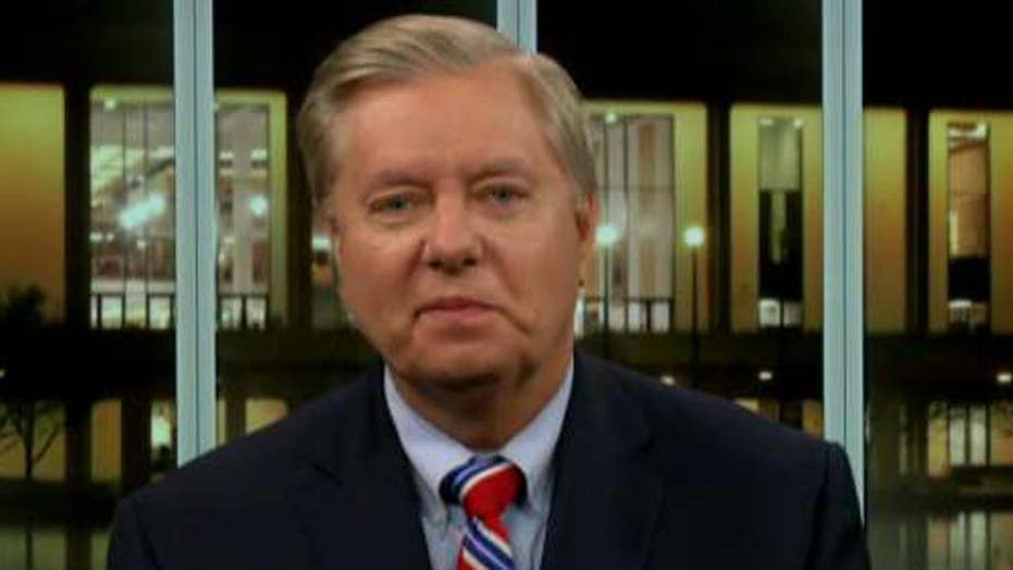 Graham: I am proud Trump made a national security decision