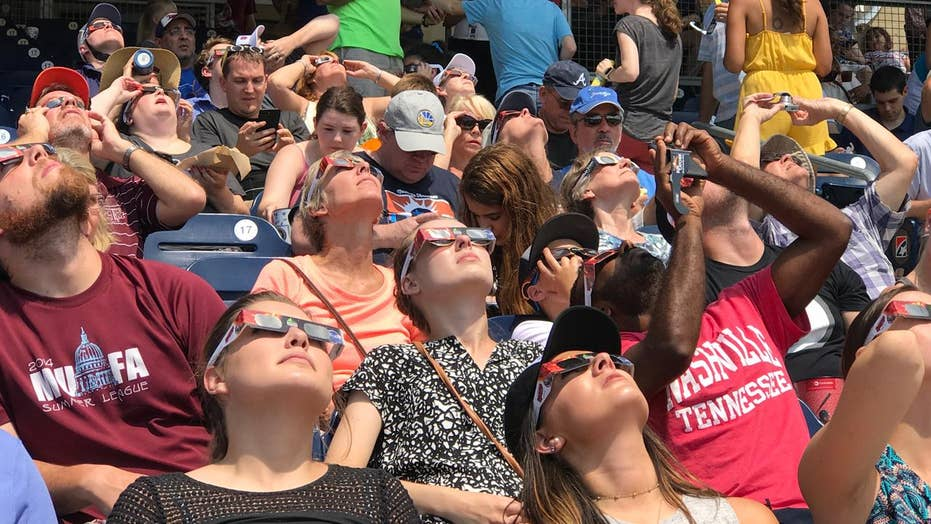Nashville hosts over one million visitors for solar eclipse