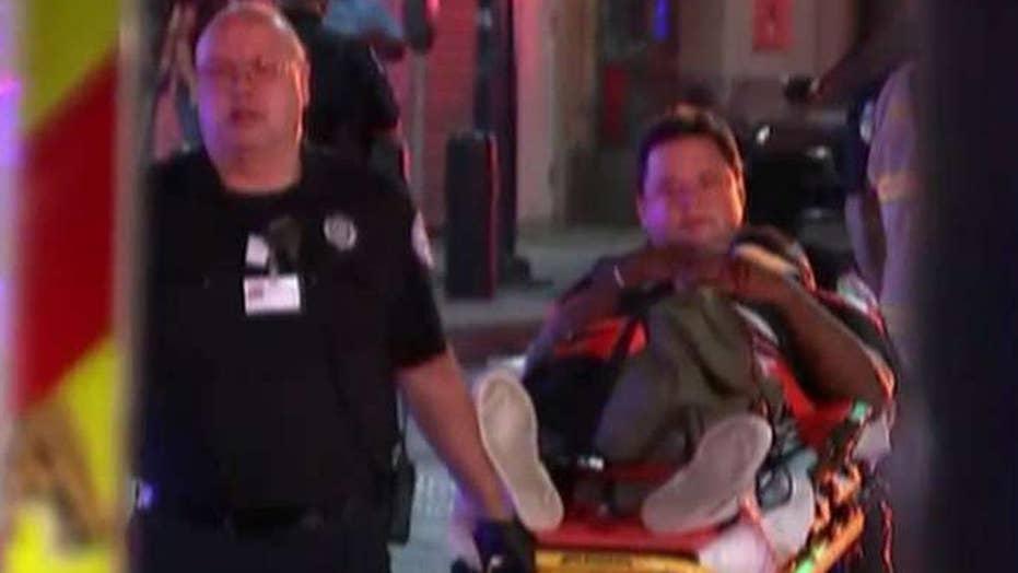 High-speed train crash in Pennsylvania injuries 42 people