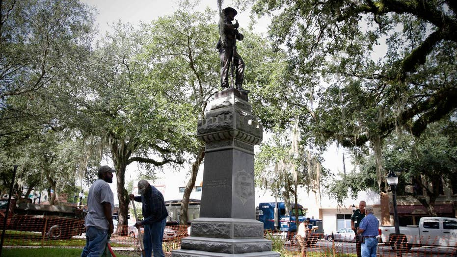 National debate erupts over confederate statues