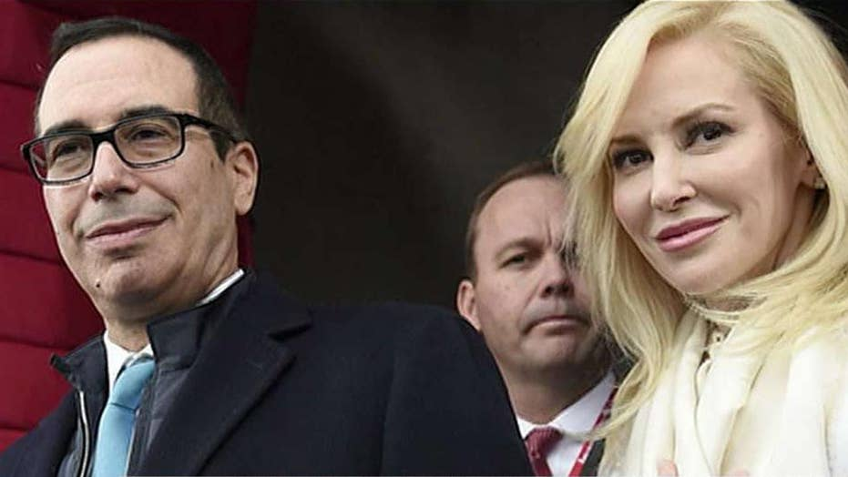 Treasury secretary's wife defends wealth in Instagram feud