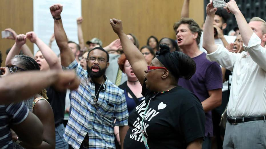 Charlottesville City Council meeting erupts with protests