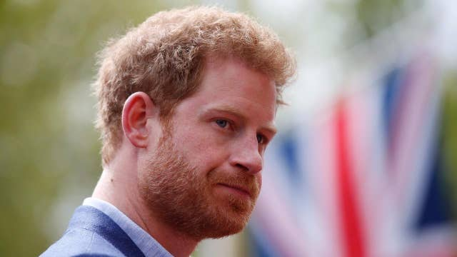 Prince Harry blames paparazzi for Princess Diana's death