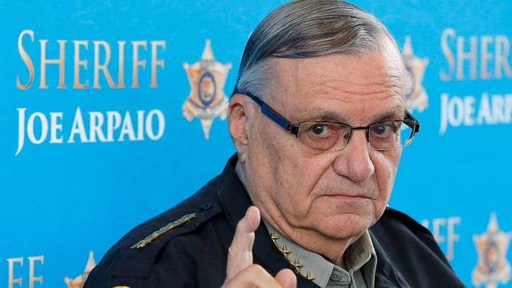 Sheriff Joe Arpaio: My case is strictly a political hit