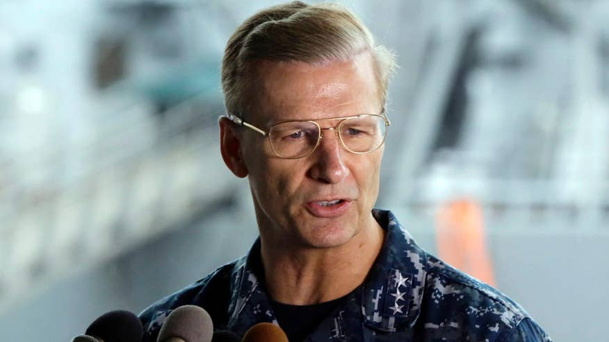 Navy officials say they 'no longer have confidence' in Vice Admiral Joseph P. Aucoin's ability to command