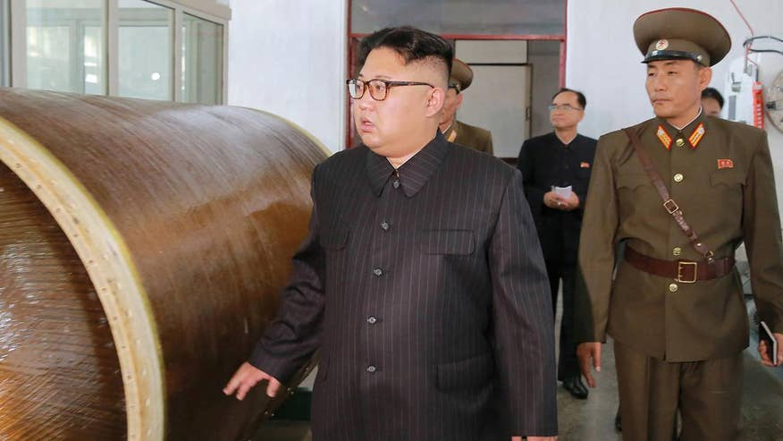 North Korea releases images of leader visiting chemical plant that makes engines for ballistic missiles