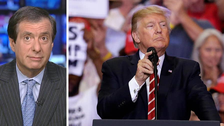 'MediaBuzz' host Howard Kurtz weighs in on President Trump's indictment of the media at a rally in Phoenix being a missed opportunity to expand his base or further his agenda