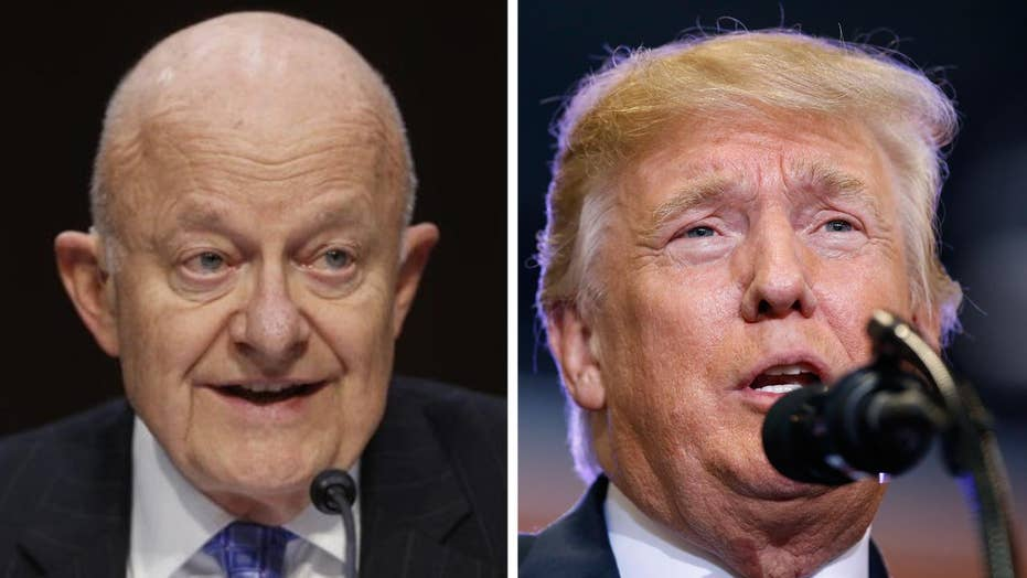 Former DNI Clapper questions Trump's fitness to be in office