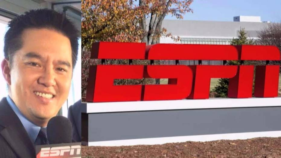 ESPN's decision to remove broadcaster sparks outcry