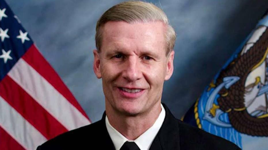 Navy dismisses 7th Fleet commander after deadly collision