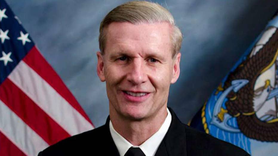 Navy dismisses 7th Fleet commander after deadly collision