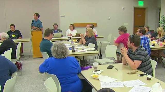 Democrats target working-class Iowa district