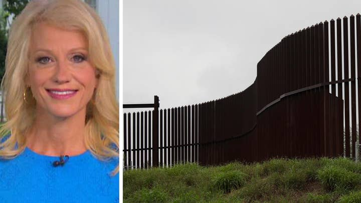 Conway: Trump is building the wall and he expects funding