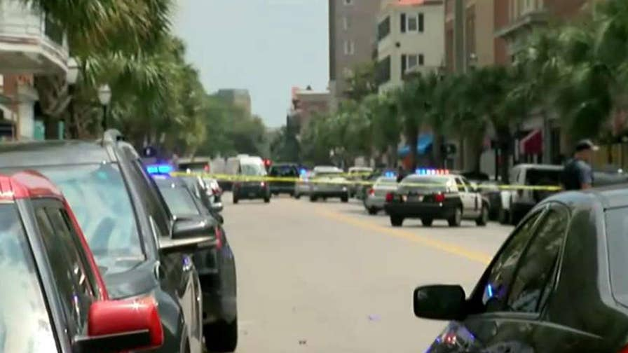 One person reported shot in downtown Charleston restaurant