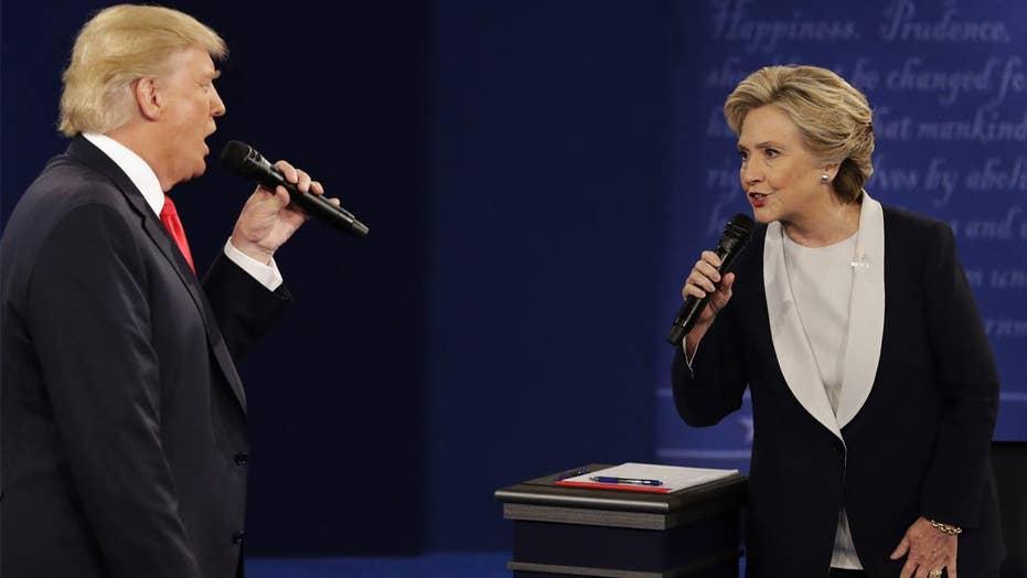 Hillary Clinton on debating Trump: 'My skin crawled'