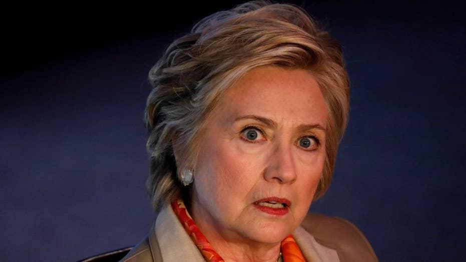 Hillary Clinton calls President Trump a 'creep' in new book