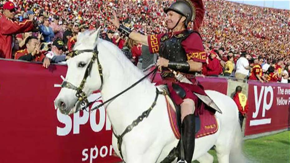 USC horse mascot accused of being symbol of racism