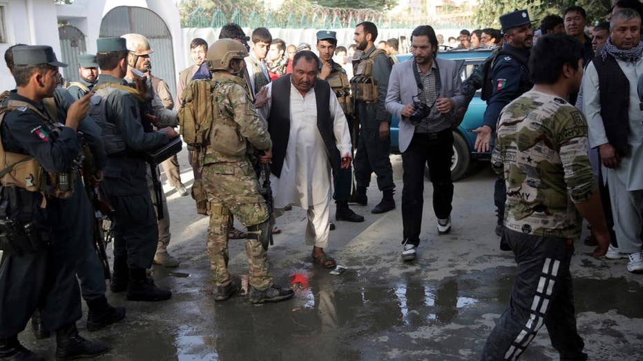 At least 20 dead after attack on Kabul mosque