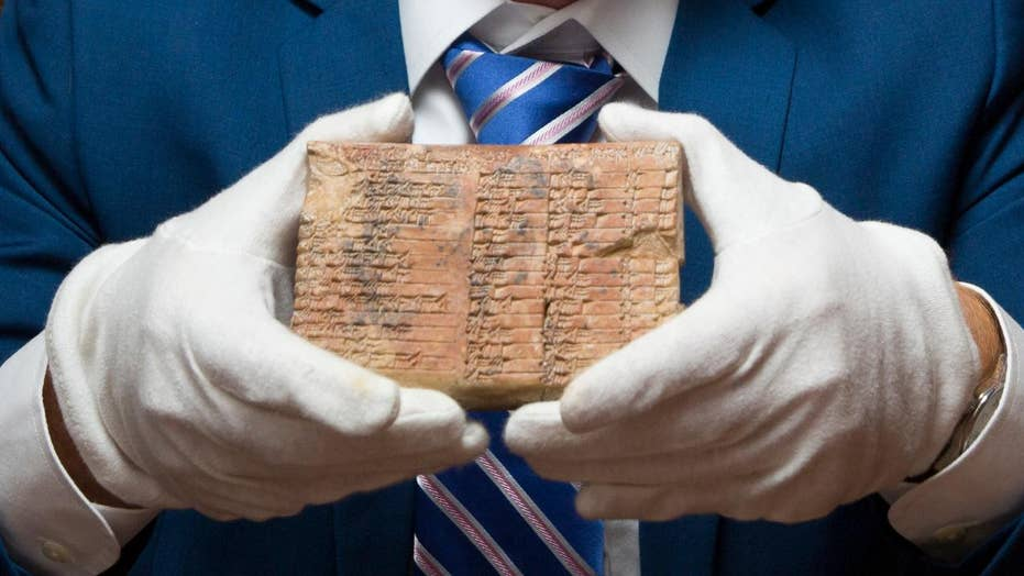 Ancient Babylonian tablet mystery solved