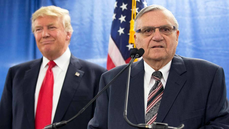 Joe Arpaio reacts to presidential pardon from Trump