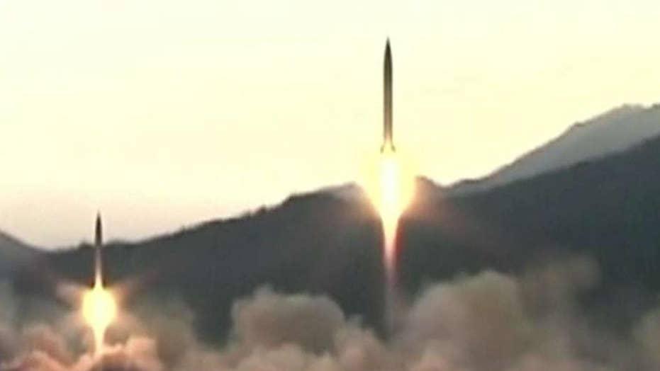North Korea test fires three ballistic missiles