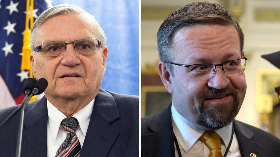 Arpaio pardon and Gorka exit come during Hurricane Harvey