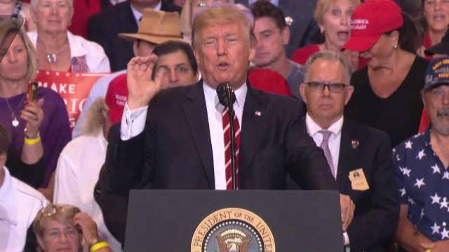 President slams 'sick' media