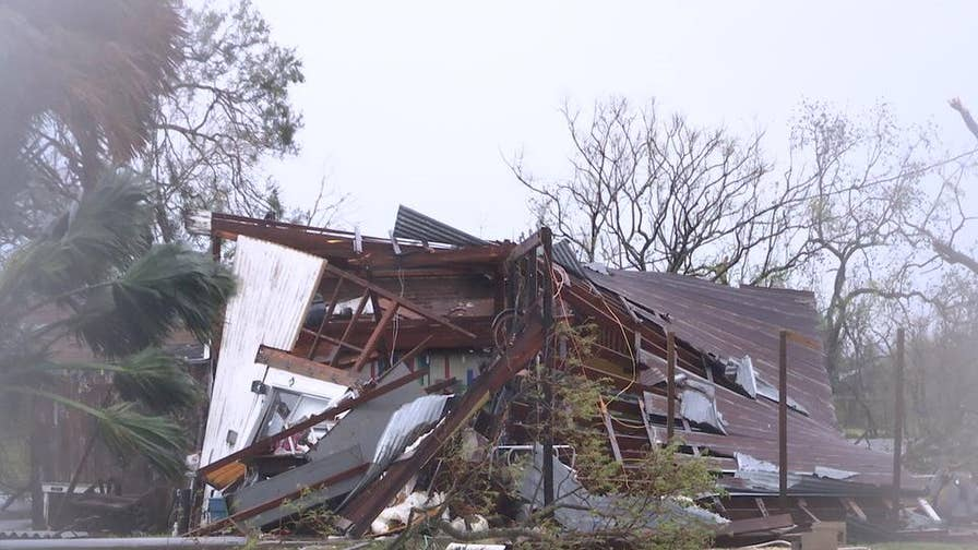 Hurricane destroys many homes and businesses along coastline
