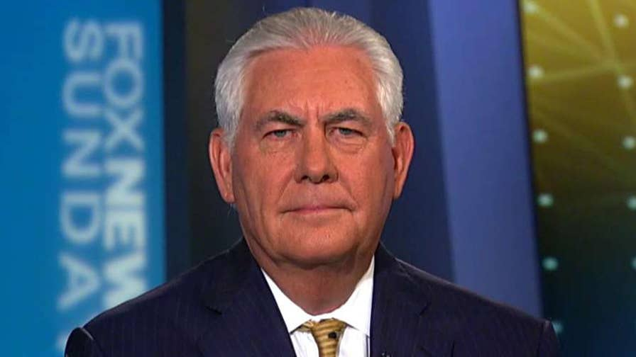 Secretary of state weighs in on 'Fox News Sunday'