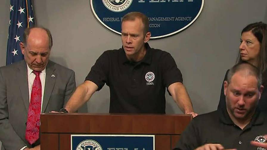 Catherine Herridge reports from FEMA headquarters in Washington