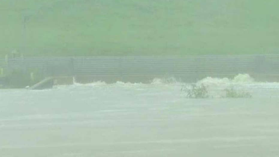 Army Corps of Engineers release water from Houston reservoir