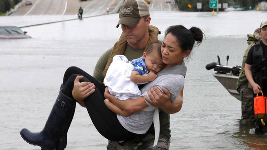 Hurricane Harvey: Ordinary American heroes inspire