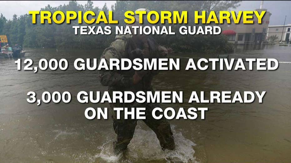 Hurricane Harvey: By the numbers