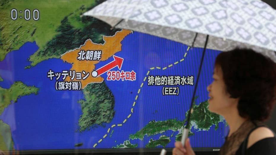 Pentagon says North Korean missile flew over Japan