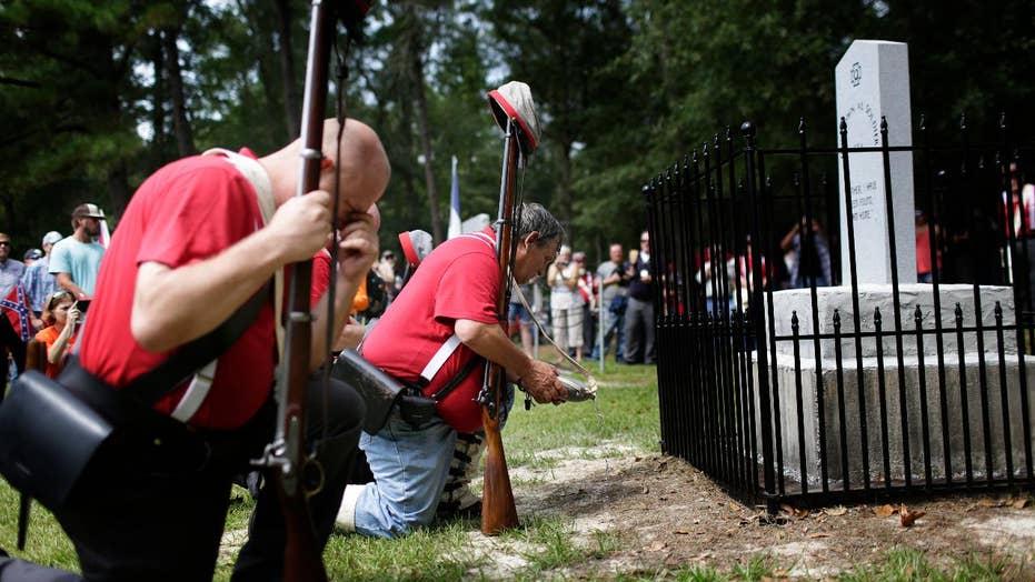 New Confederate monument unveiled in Alabama
