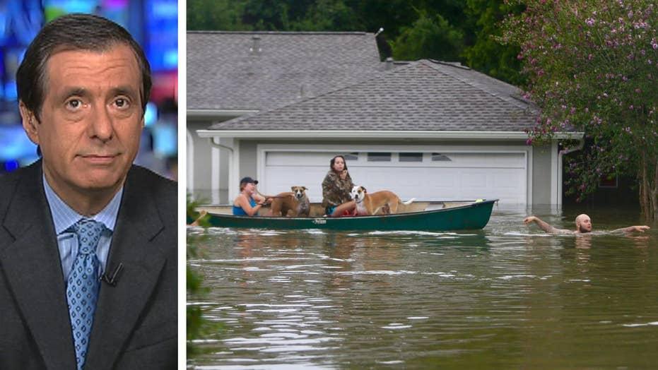 Kurtz: How hurricane stirs the political waters
