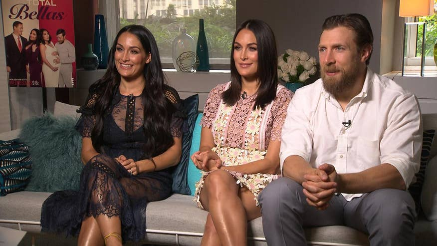 WWE stars Nikki and Brie Bella, along with Daniel Bryan, discuss the 'beautiful moments' and constant drama fans can expect from season 2 of 'Total Bellas'
