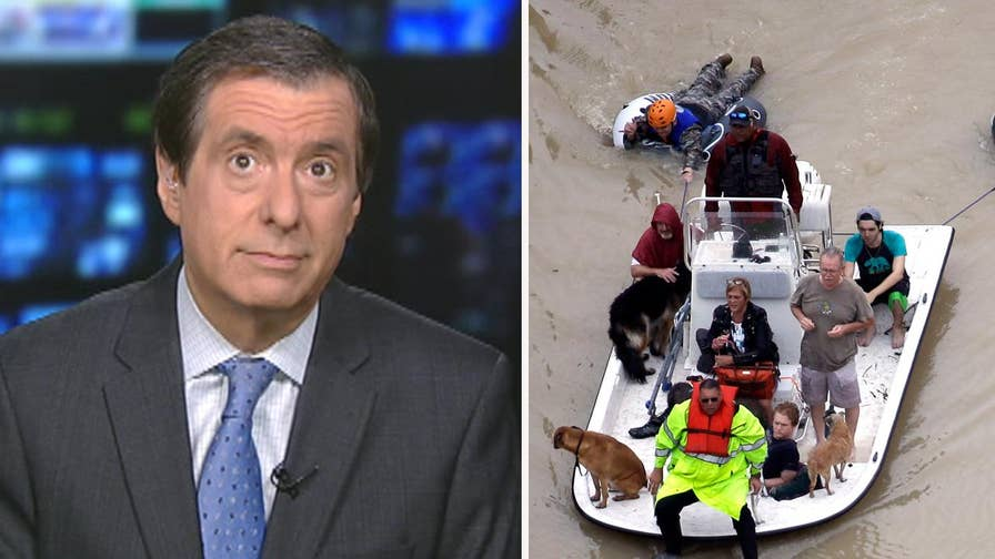 'MediaBuzz' host Howard Kurtz weighs in on the journalists risking their lives covering Hurricane Harvey in Houston