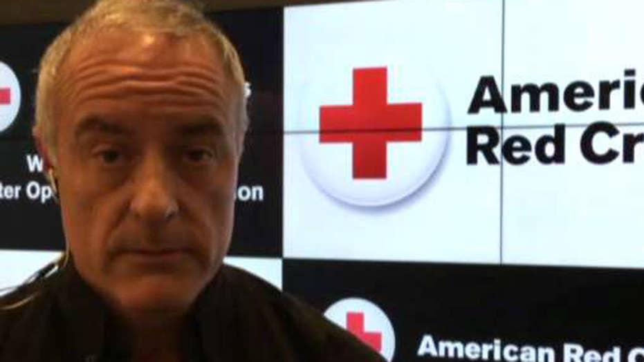 How the Red Cross is handling the flooding in Houston