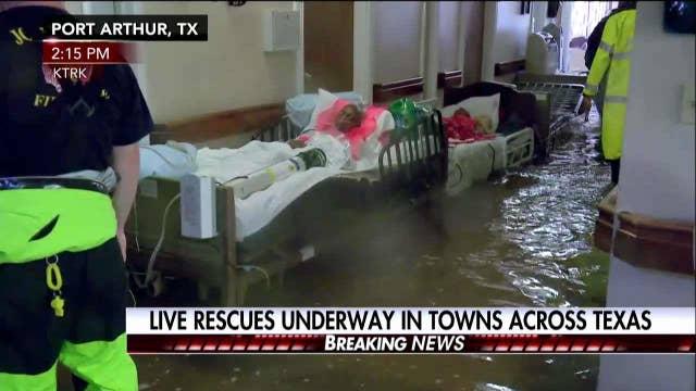 LOOK: TX Nursing Home Suddenly Flooded By Harvey, Stranding 50+ | Fox News Insider