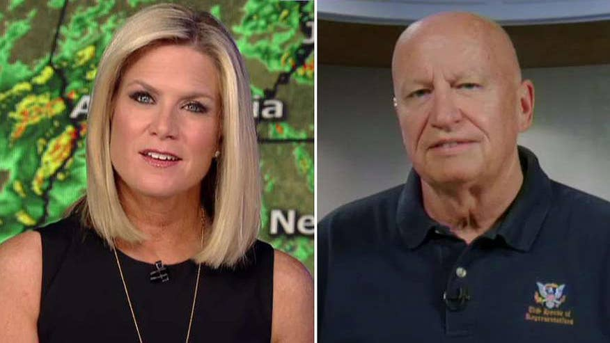 Texas congressman fires back against comments by Gov. Chris Christie on 'The Story with Martha MacCallum'